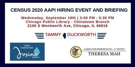 Census 2020 AAPI Hiring Event and Community Briefing tickets