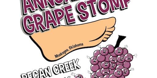 Pecan Creek Winery's Annual Grape Stomp