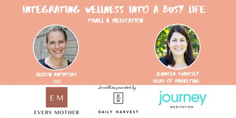 Tl;dr Free Smoothies and Meditation Before Work | Every Mother, Journey Meditation + Daily Harvest tickets