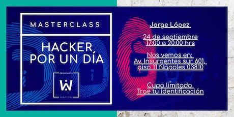 HACKER POR UN DÍA tickets