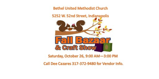 Fall Bazaar and Craft Show