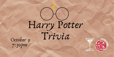 Harry Potter Movie Trivia - Oct 9, 7:30pm - Boston Pizza YYC  tickets