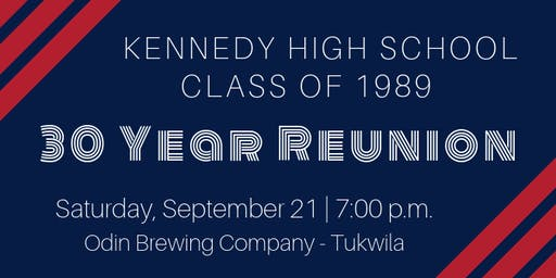 JFK Class of 1989 - 30 Year Reunion