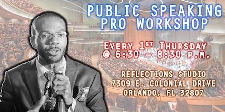 Public Speaking Pro Workshop tickets