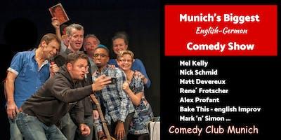 Munich's biggest English-German Comedy Show - 9. November 2019