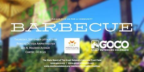 Great Outdoors Colorado Community Barbecue tickets