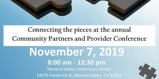 2019 Community Partners and Provider Conference