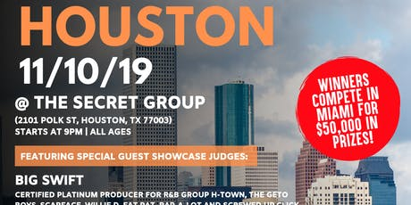 Coast 2 Coast LIVE Artist Showcase Houston, TX - $50K Grand Prize tickets