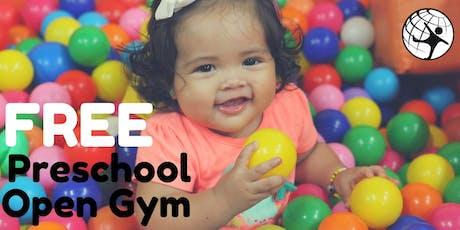 Free Preschool Open Gym October tickets