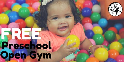 Free Preschool Open Gym October