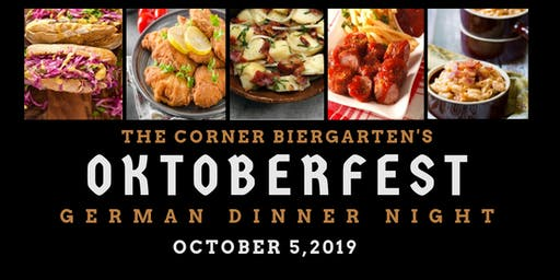 Oktoberfest- Authentic German Dinner