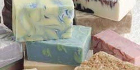 SOAP MAKING WORKSHOP (Artfully Craft Melt & Pour Shea Butter Soap) tickets