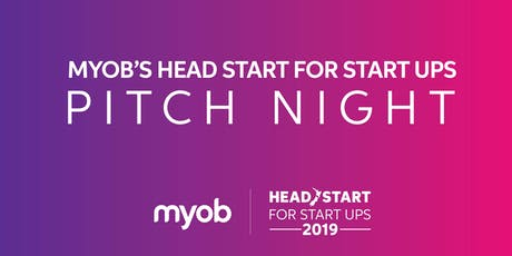 2019 Head Start for Start Ups Pitch Night tickets