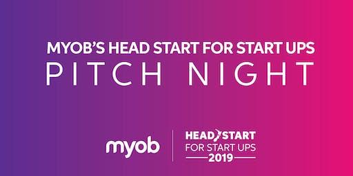 2019 Head Start for Start Ups Pitch Night