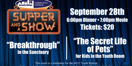 Supper & Show : SY Fundraiser : September 28th tickets