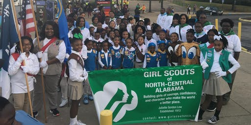 Girl Scouts McDonald Magic City Classic Parade 2019