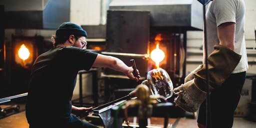 Behind the Scenes: Facility Tour & Glass Blowing Demo