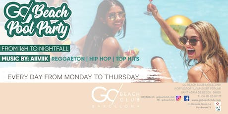 Go Beach Pool Party tickets
