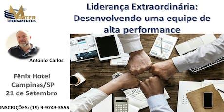 Liderança Extraordinária: Desenvolvendo uma equipe de Alta Performance ingressos