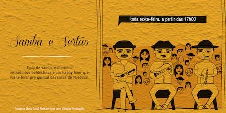 Samba e Sertão Dona Canô ingressos