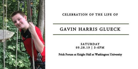 Celebration of Life for Gavin Glueck Tickets
