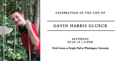 Celebration of Life for Gavin Glueck