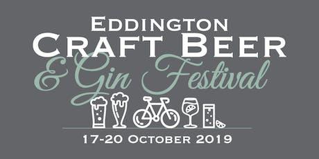 2nd Eddington Craft Beer & Gin Festival | Friday 18 October + Swamptruck tickets