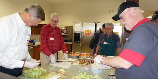 VA Hospital Defender's Lodge/Fisher House - serve dinner