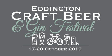 2nd Eddington Craft Beer & Gin Festival | Saturday 19 October tickets