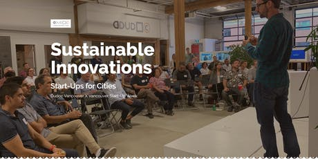 Startups for Cities: Presentations & Panel on Sustainable Impact tickets