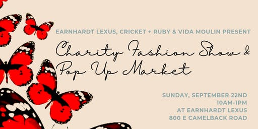 Charity Fashion Show & Pop Up Market
