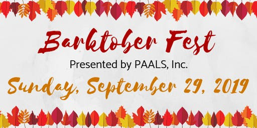 Barktober Fest 2019 presented by PAALS, Inc