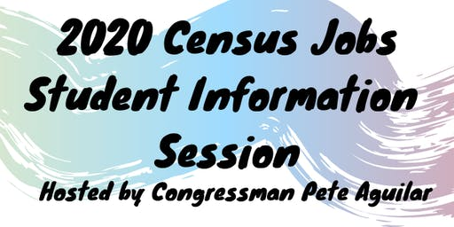 2020 Census Jobs Student Information Session