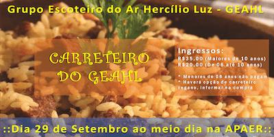 Carreteiro do GEAHL - Grupo Escoteiro do Ar Hercílio Luz - Florianópolis/SC