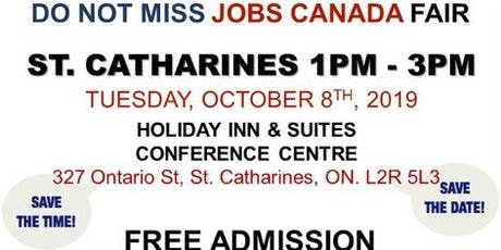 St. Catharines Job Fair – October 8th, 2019 tickets