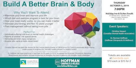 Build A Better Brain & Body tickets