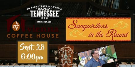 Songwriter round at Vienna Coffee House-Maryville tickets