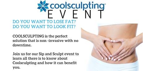 Coolsculpting Sip & Sculpt w/free demos, special pricing, comp. food & wine tickets