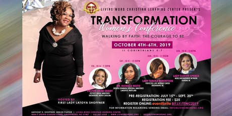 Transformation Women's Conference 2019 tickets