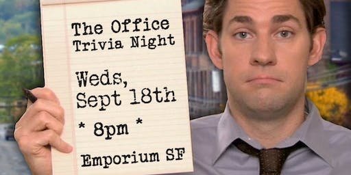 Trivia Night: The Office at Emporium SF