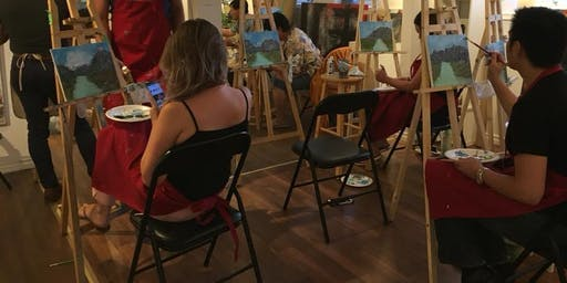 Lotus Gallery Paint Party