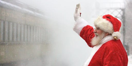 North Pole Limited - Steam Train Ride with Santa - 12/14 @ 12 pm