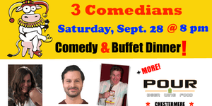 SATURDAY, September 28 @ 8 pm - FunnyFest Comedy...