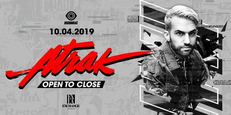 A-Trak (Open to Close) tickets