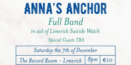 Anna's Anchor - Christmas Charity Gig tickets