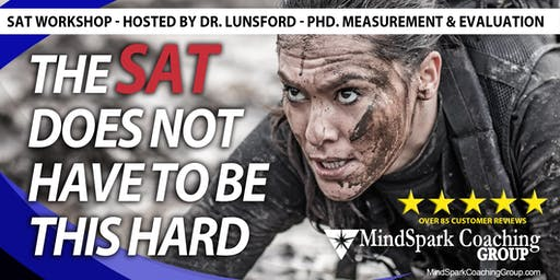 New SAT Online Workshop - Hosted by Dr. Douglas Lunsford