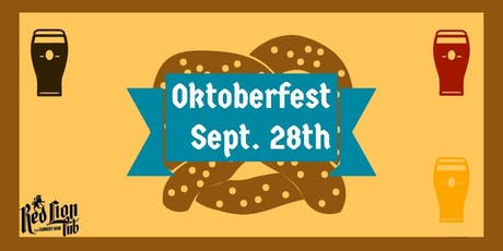 Oktoberfest at The Red Lion tickets