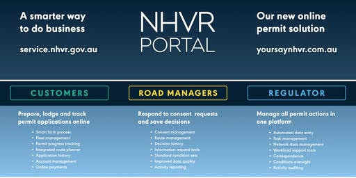 Brisbane QLD - NHVR Portal Access Permits Road Manager Training (18 September 2019, 12.00pm to 4:00pm AEST)