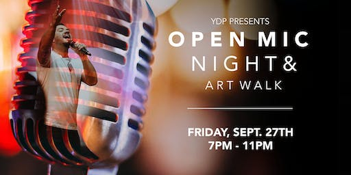 Open Mic Night & Art Walk