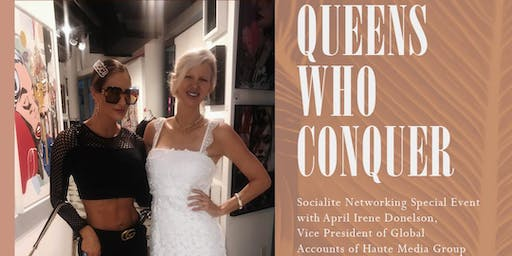 Queens Who Conquer Upscale Female Networking Mixer Miami Spice at Traymore